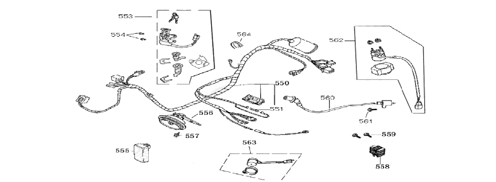 F19 WIRE HARNESS ASSEMBLY