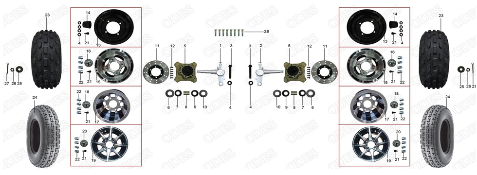 F1 FRONT DRIVE SYS