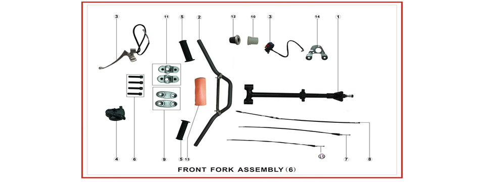 F6 Front Fork Assy