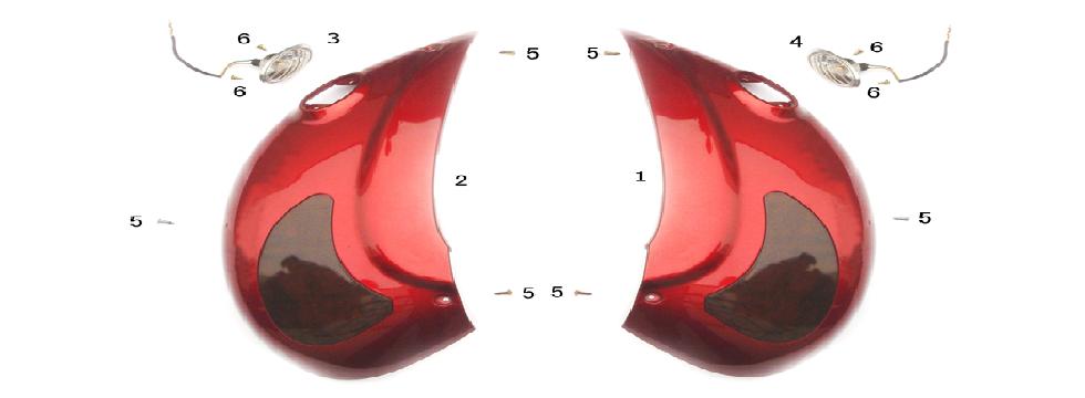 F7 TURN SIGNAL ASSY