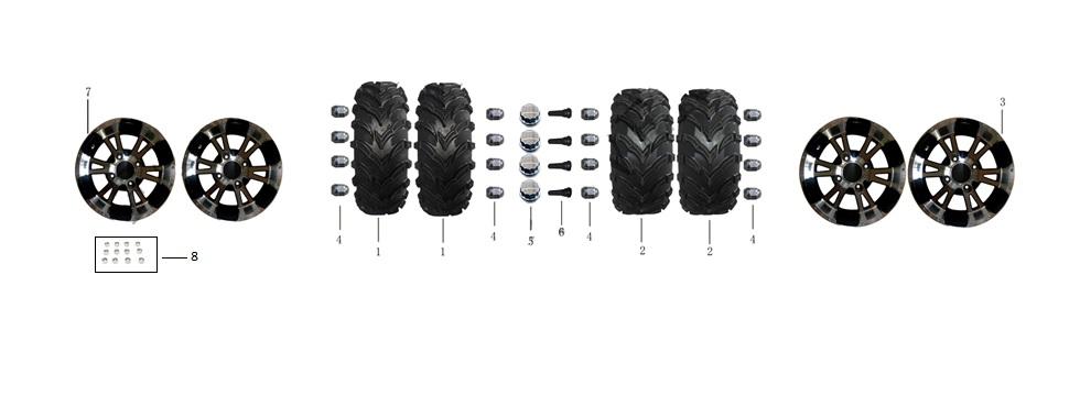 F8-Rim and Tire