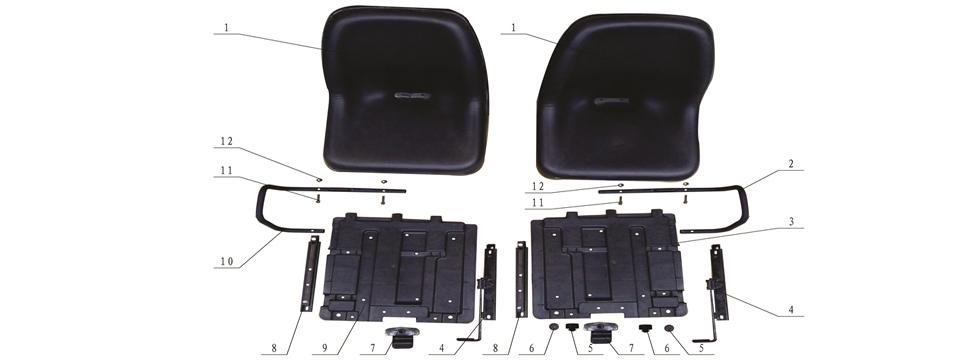F8 Seats