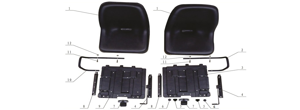 F-8 Seats