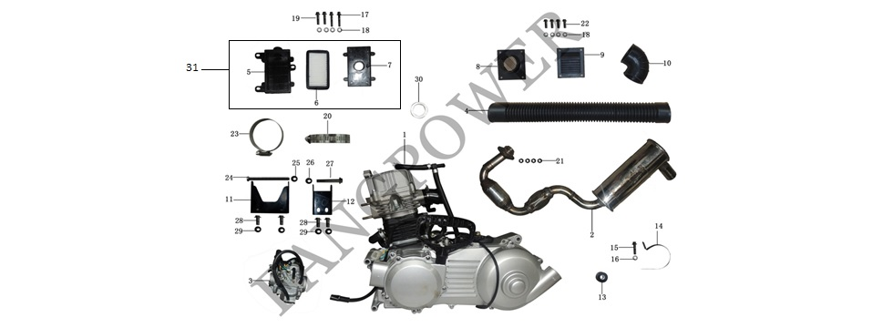 F9-Intake & Exhaust System