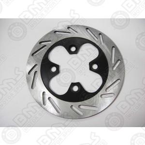 Brake disk plate-rear
