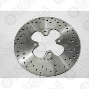 Brake disk-rear