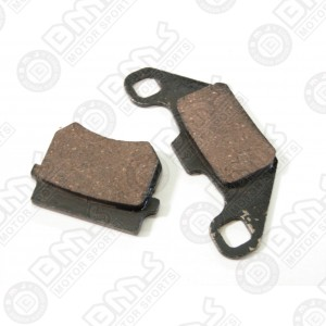 Brake shoe pads-front and rear