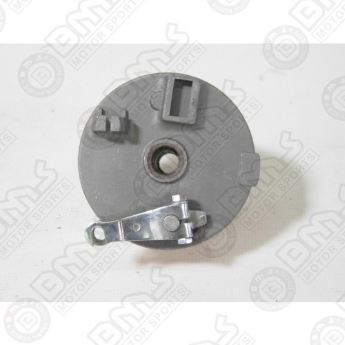 Drum front brake assy right